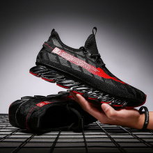 Running Shoes Men 2019 Thestron Male Walking Jogging Shoes Breathable Lace-Up Sport Sneakers Cushioning Non Slip Athletic Shoes new men athletic breathable road slip on hard court sport leather walking shoes autolock sapato ciclismo sneakers