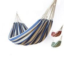 big size hammock portable camping garden beach travel hammock outdoor ultralight colorful cotton canvas swing buy hammocks and get free shipping on aliexpress    rh   aliexpress
