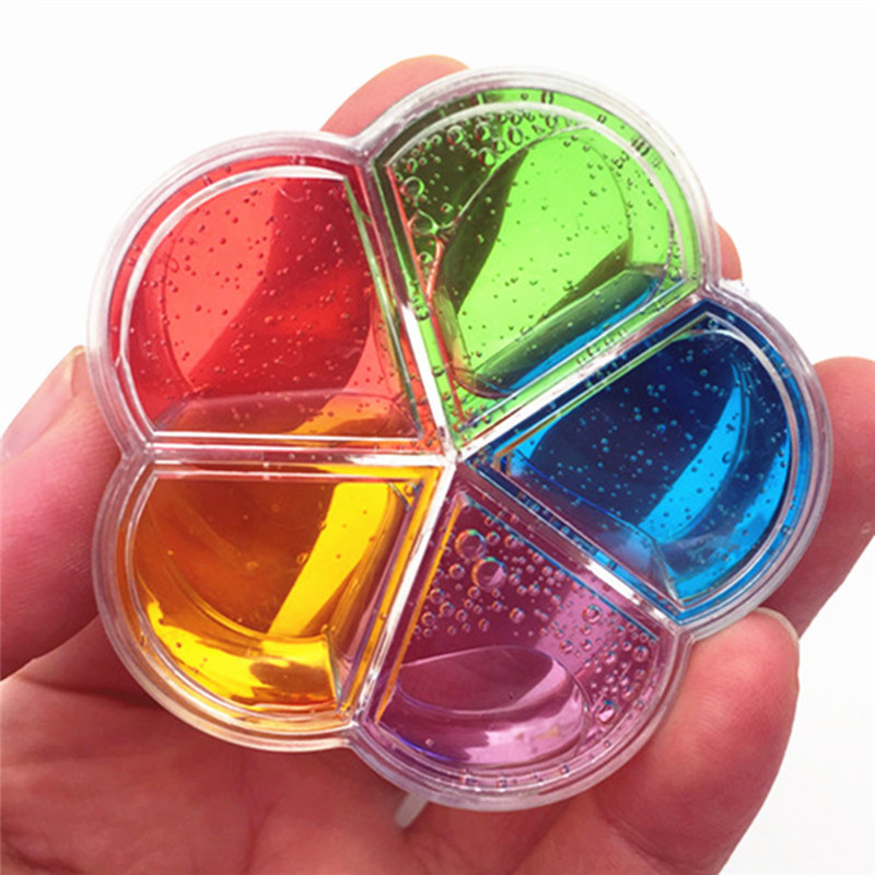 Modeling Clay Slime Macarons Colors Clay Black Hexagon Sequins Cotton Mud Diy Toys Plasticine Craft For Antistress Kids Toys Supplies