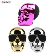 Skull Head Bluetooth Speaker