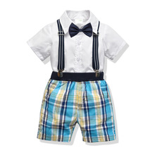 2019 Summer Baby Boy Clothes Set Children Clothing Toddler Boys Sets Costume for Kids Clothes Sets T-shirt+Jeans Sport Suits boys clothes new 2017 summer boy clothing sets flowers pattern toddler boys sets kids clothes children clothing set