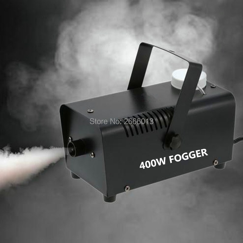 Niugul 400W Portable Fog Machine for Halloween Party Wedding Stage Effect - Aluminum Casing -Wireless Remote Control Mini Fogger