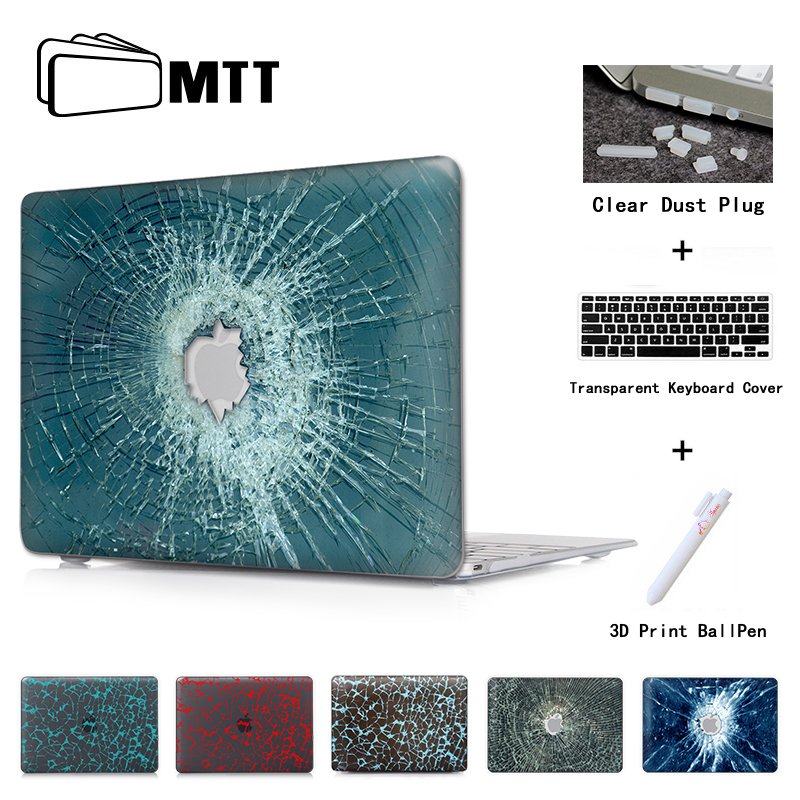 Bullet Holes Crack Laptop Case For Apple Macbook Pro 13 15 c