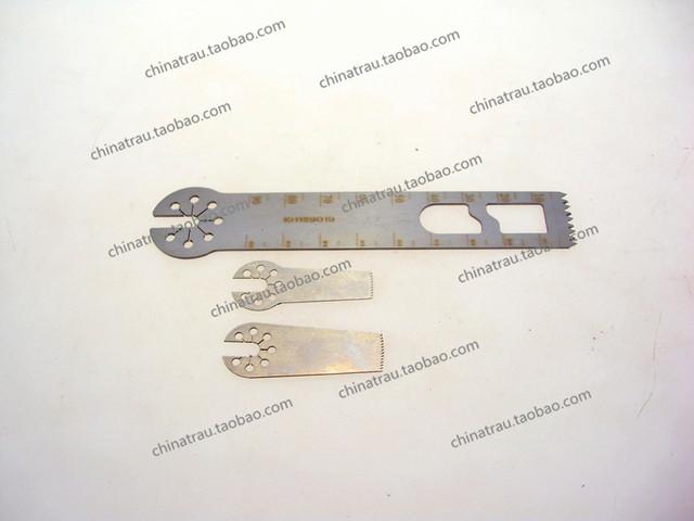 Ortopedia instrumento médico de acero inoxidable hoja de sierra de siete estrellas sierra eléctrica poco grande/medio/pequeño