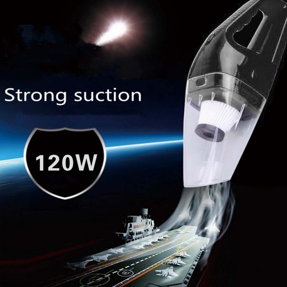 Multi-function Wet/Dry Car Vacuum Cleaner 12V 120W 3500PA Aspirateur de voiture Handheld Vacuum Car 5M Power Cord XNC