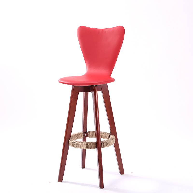 restaurant ice cream shop chair coffee bar house stool free shipping white black orange red color
