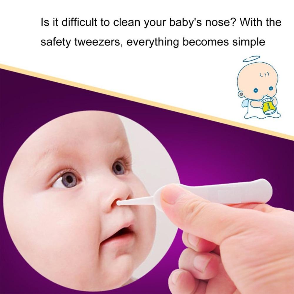 1 StÜck Newbron Baby Ohr Und Nase Nabel Care Cleaning Pinzette Kindersicherheit Sauber Kunststoff Pinzette Zange Sauber Clips Neuen Ankunft Rohstoffe Sind Ohne EinschräNkung VerfüGbar