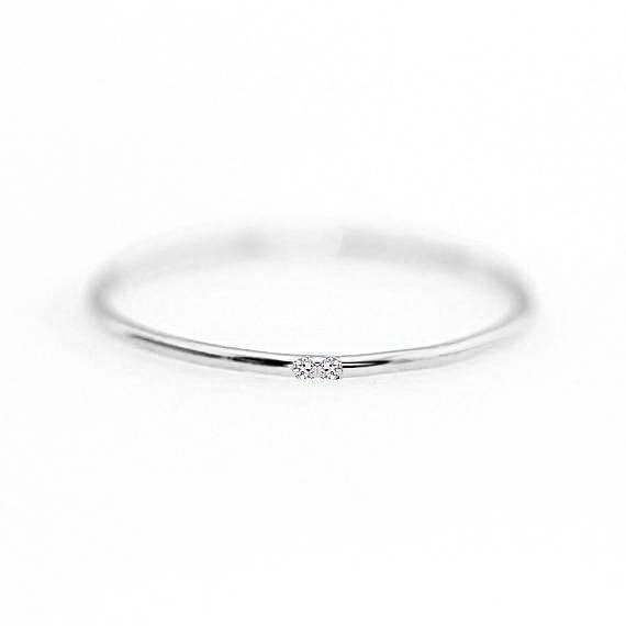 ZHOUYANG кольца для женщин с микро-вставками из кубического циркония тонкое кольцо на палец модное Ювелирное кольцо KCR101 - Цвет основного камня: Silver Color 104