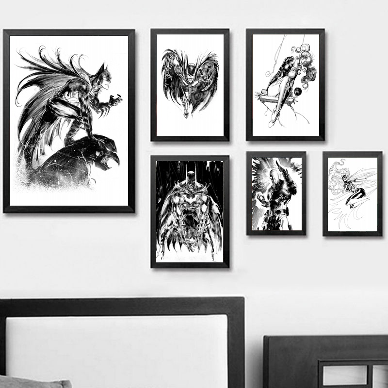 Deadpool Harley Quinn Marvel Superheroes Comic Art Silk Poster 13x20 24x36 inch