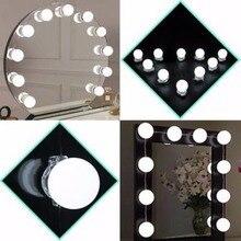 plug in vanity mirror lights. Mayitr Makeup Mirror Vanity 10 LED Light Bulbs Kit US Plug  For Dressing Buy dressing mirror lights and get free shipping on AliExpress com
