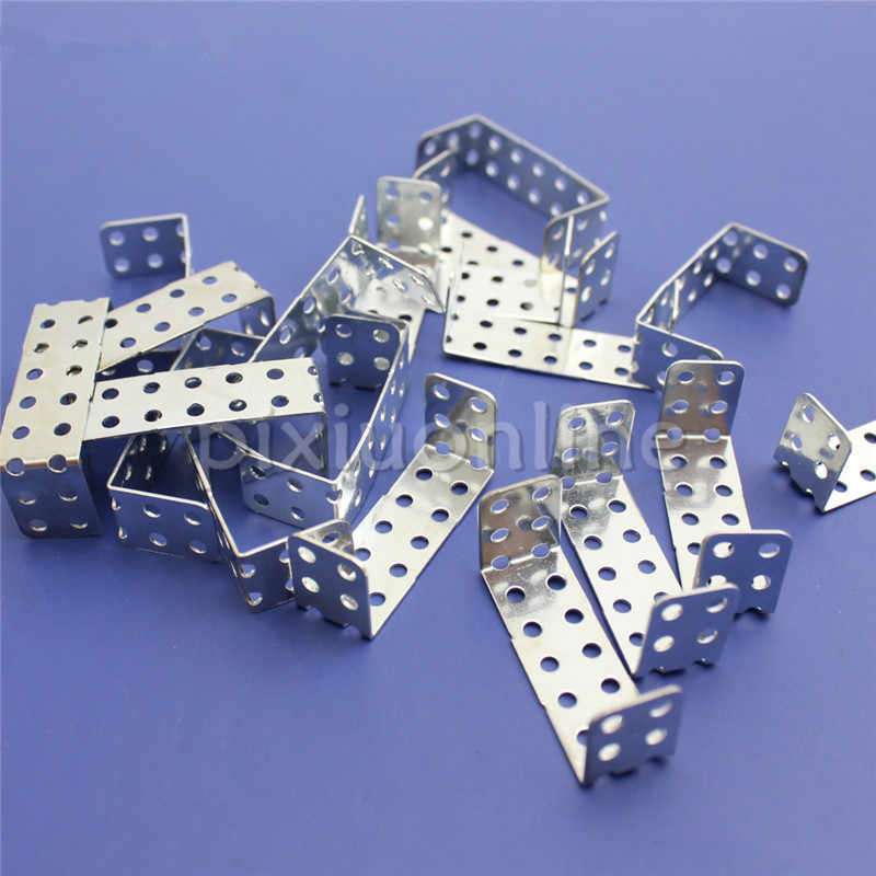 20pcs/lot J172 Iron U-shaped Sheet Multi Aperture U-iron Channel Iron DIY Model Parts Free Shipping Russia