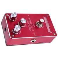 Aroma AOD 1 Electric Guitar Bass Overdrive Distortion Effect Pedal True Bypass