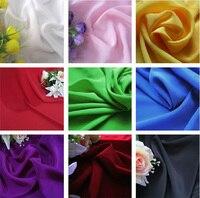 Multicolor Width 1 5M 1 Meter Lot Emulation Silk Koshibo Chiffon Fabric For Sewing Summer Clothing
