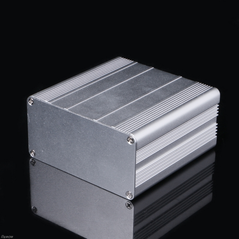 DIY Aluminum Enclosure Case Electronic Project PCB Instrument Box 100x100x50mm DamomDIY Aluminum Enclosure Case Electronic Project PCB Instrument Box 100x100x50mm Damom