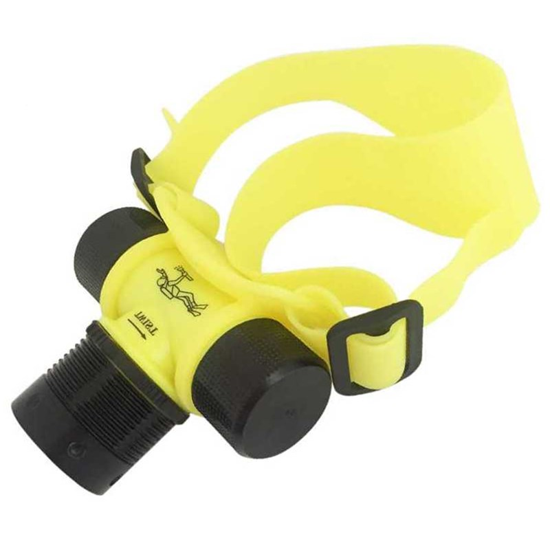 Underwater Headlamp Frontal Flashlight LED Working Headlight Diving Head Lamp Scuba Dive Torch Light linternas frontales cabeza ...
