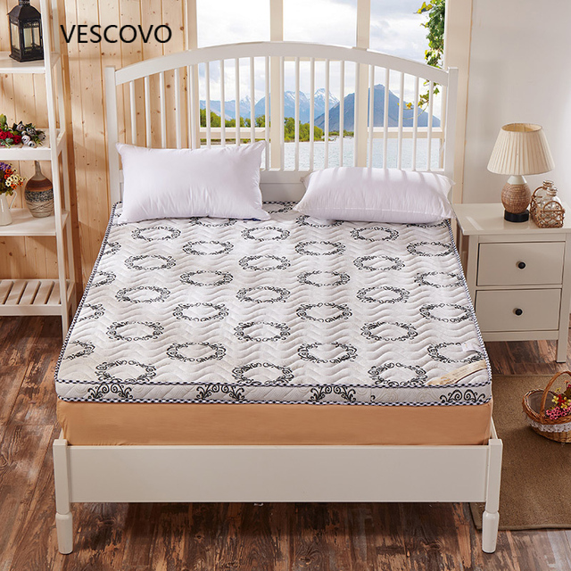 High Rebound Mattress Thickness Foldable Thick Memory Foam For Single Double Bed
