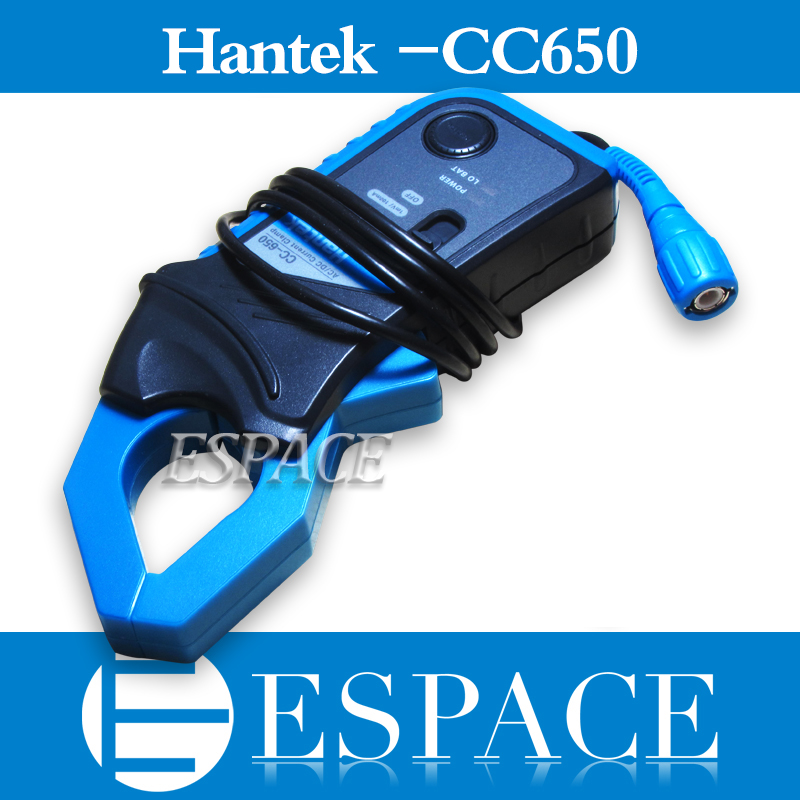 New Hantek CC650 CC 650 Up to 20 KHz 650A Oscilloscope Multimeter AC DC Current Clamp