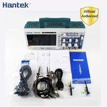Hantek DSO5102P Цифровой осциллограф 100 МГц 2 канала 1GSa/s длина записи 40 К USB Osciloscopio ручные осциллографы