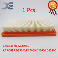 Robot Vacuum Cleaner Parts Hepa Filters Filter For Karcher DS5500 DS6000 DS5600 DS5800 Free Shipping