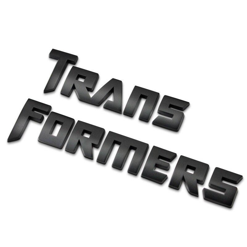 Отдельные буквы Chrome металлический сплав цинка эмблема логотип Средства ухода за кожей боковой двери гирлянды Стикеры Универсальный Одежда... ...