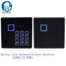 Tầm xa RFID NFC Đầu Đọc Thẻ 13.56MHZ/125KHZ Thẻ Cảm Ứng Điều Khiển Truy Cập Đầu Đọc Wiegand26 Đầu Ra với bàn phím