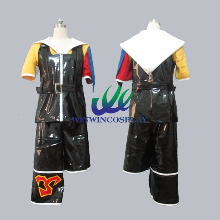 Game Final Fantasy FF X 10 Tidus Uniform Cosplay Set For Adult Men Women Comic Con Party Halloween Cosplay Costume image