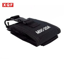 XQF 10 PCS MSC-20A Multi-function Radio Case Holder for Baofeng UV 5R 5RA 5RB 5RC 5RD 5RE+ 5RA+Two Way