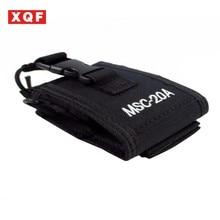 XQF 10 PCS MSC-20A Multi-function Radio Case Holder for Baofeng UV 5R 5RA 5RB 5RC 5RD 5RE+ 5RA+Two Way Radio walkie talkie belt clip for baofeng uv 5r uv 5ra uv 5rb uv 5rc 5rd 5re 5re