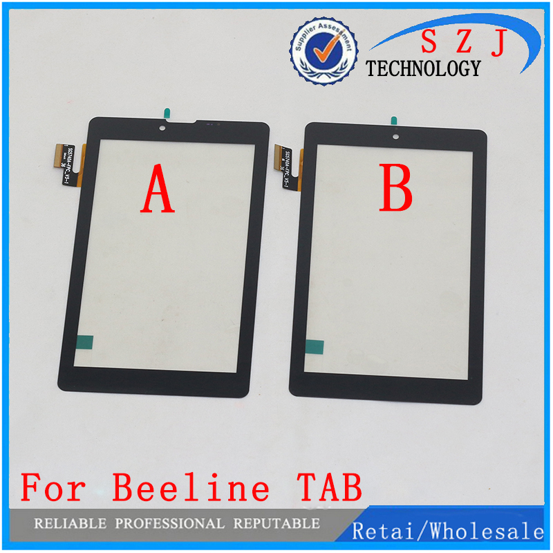 New 7'' inch Tablet touch screen digitizer for tablet pc Beeline TAB panel Sensor Glass Replacement Free Shipping new 7 inch tablet touch screen panel digitizer glass sensor for tyf1039v8 free shipping