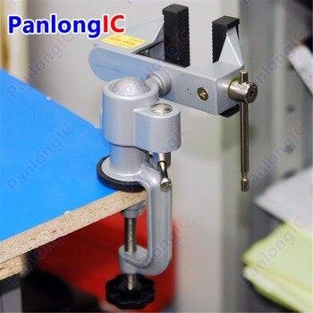 цена на Wholesale!!! Table Vise Bench Vice Alloy 360 Degree Rotating Universal Clamp Units Vise Mini Precise Vise
