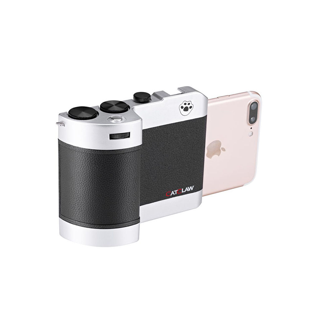 The holder for IPhone will turn your phone into a handy camera