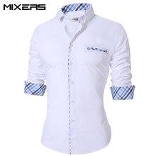 f93136fecabac3 2018 nowy lato cienkie męskie koszula na co dzień regularne bawełna koszula  na co dzień mężczyźni