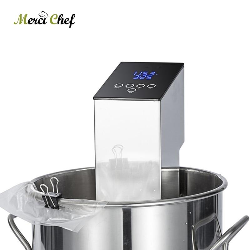 ITOP Sous Vide Cooker Vacuum Food Machine Immersion Circulator Cooker Low Temperature Processing Slow Cooking Machine-in Food Processors from Home Appliances    1