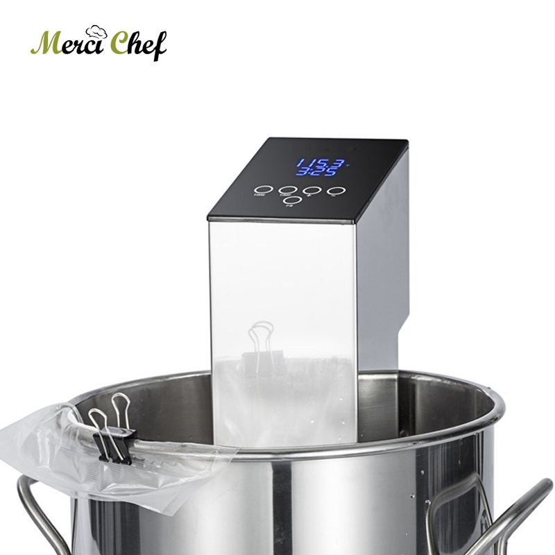 ITOP Sous Vide Cooker Vacuum Food Machine Immersion Circulator Cooker Low Temperature Processing Slow Cooking Machine