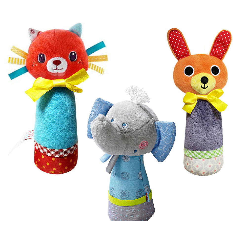 Baby Toys 0 12 Months Cartoon Animal Plush Rattles Toys For Newborn Baby Brinquedos Para Bebe Oyuncak Baby Boy Girl Toys