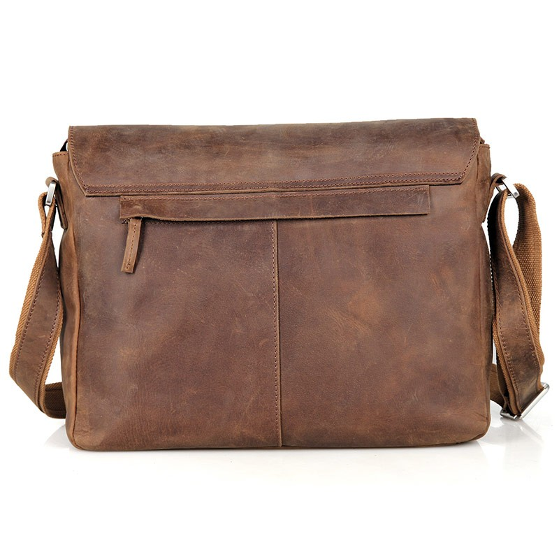 Shoulder Male Bag Әдемі Былғары Vintage Ерлер - Сөмкелер - фото 2
