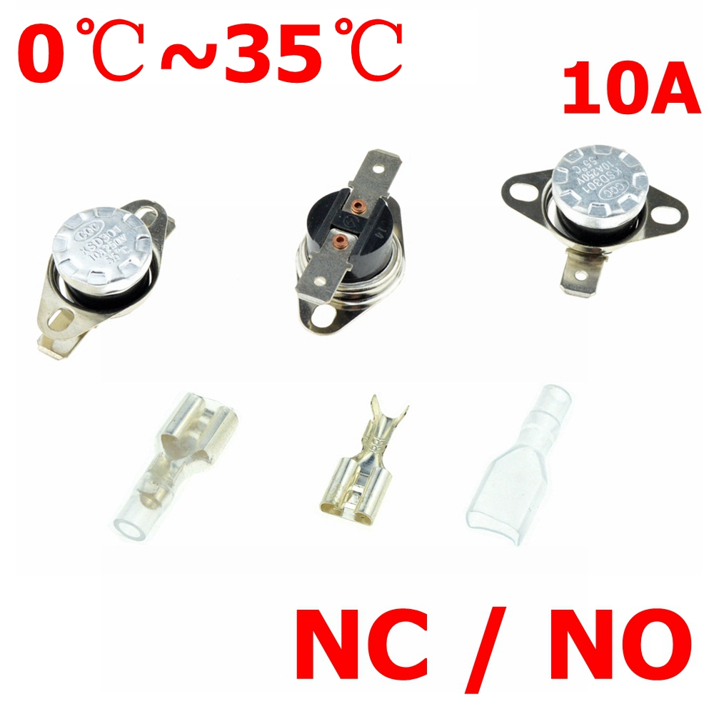 Temperature Switch Control Sensor Thermal Thermostat 35°C-160°C NO//NC KSD301