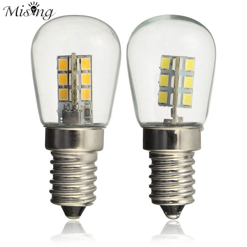 Mising LED Little Snail Mouth Glass Bulb 3w 220v Warm White Cold White For Lamp Bulb Of Refrigerator,Machine Tool,Sewing Machine