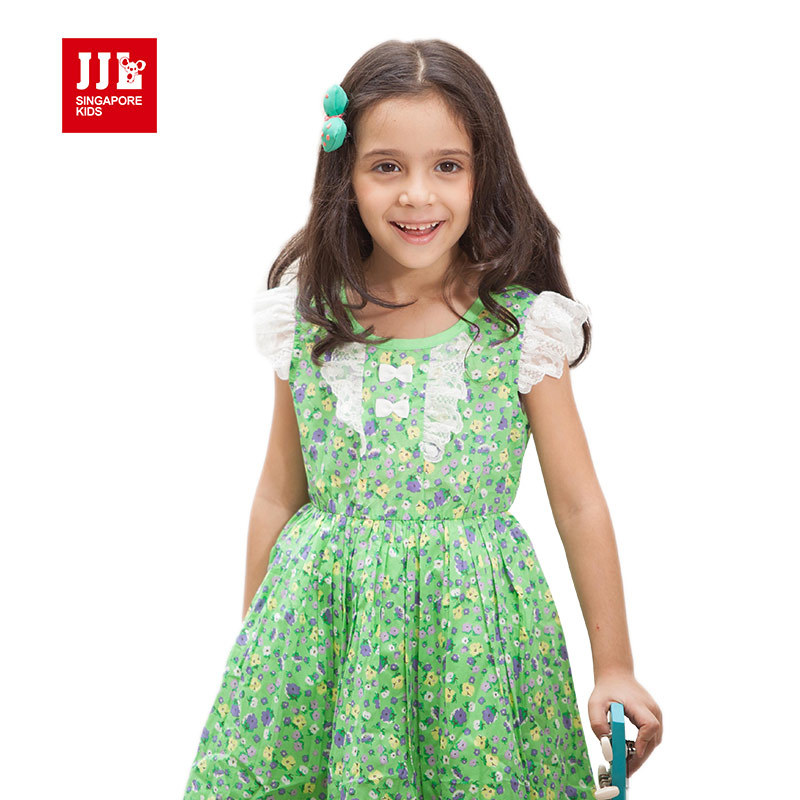 girls floral dress summer kids sleeveless dress party dress for kids clothing 2015 new arrival brand kids dress distrressed girls dress summer 2016 new arrival pink ripped denim dress for kids sleeveless solid casual girls overalls dress