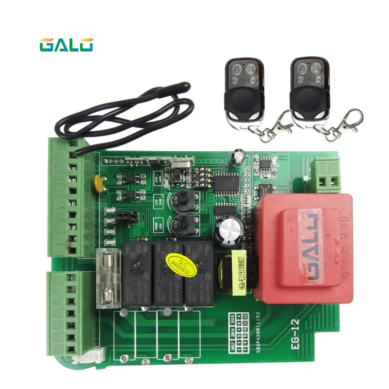 Image 5 - Sliding gate opener motor control unit PCB controller circuit board electronic card for KMP series-in Access Control Kits from Security & Protection