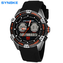 Cart Watch High Quality 3 Degrees Waterproof With Japan Movt Military Racing Noctilucent Double Movement Digital Watch Sport