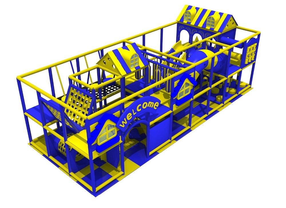Exporté au chili aire de jeux intérieure de sécurité avec HZ-180621 de fosse à billes 24 ans fabricant