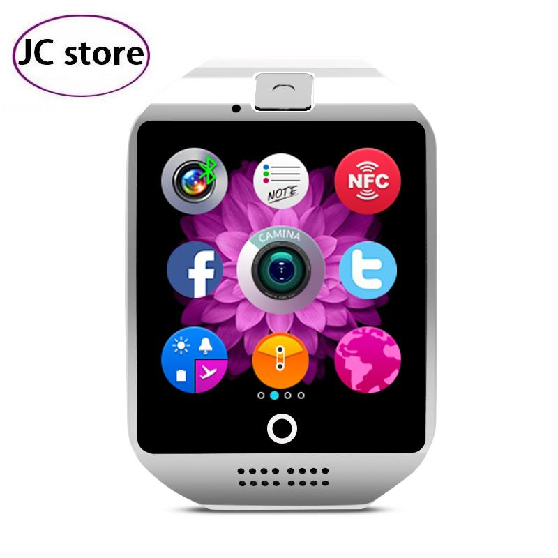 2016 Hot Smart Watch Q18 with 1 5 inch Touch Screen Support NFC Function Camera TF