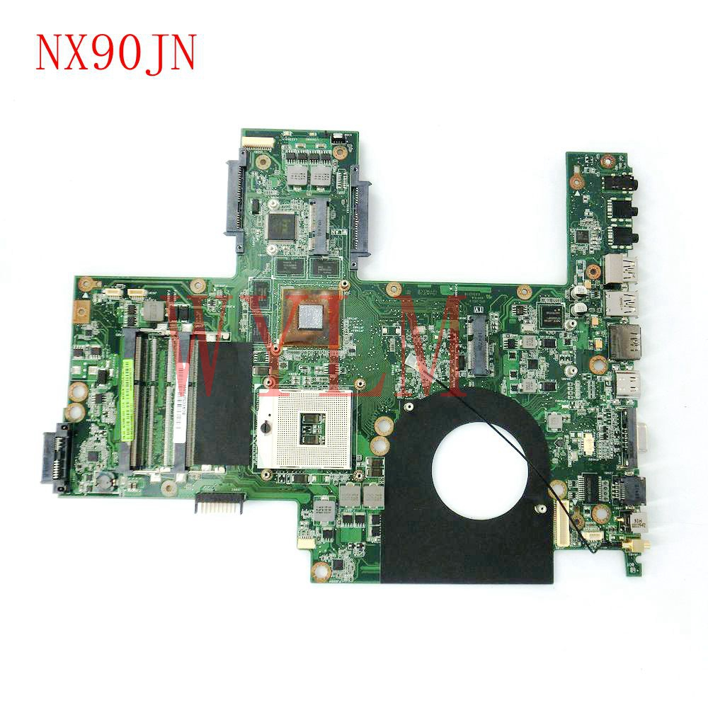 цена free shipping NX90JN mainboard REV2.0 For ASUS NX90J NX90JN laptop motherboard 60-NZ0MB1000-C16 100% Tested Working