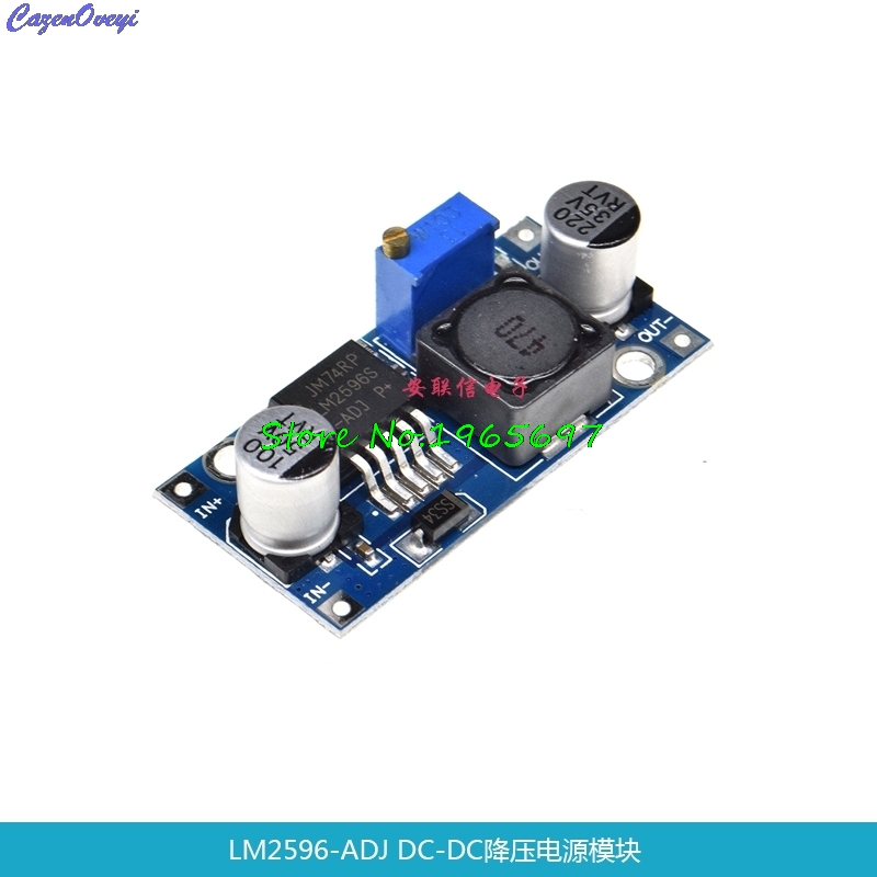 Ultra-small LM2596 Supply Module DC / DC BUCK 3A Adjustable Buck Module Regulator Ultra LM2596S 24V Switch 12V 5V 3V In Stock