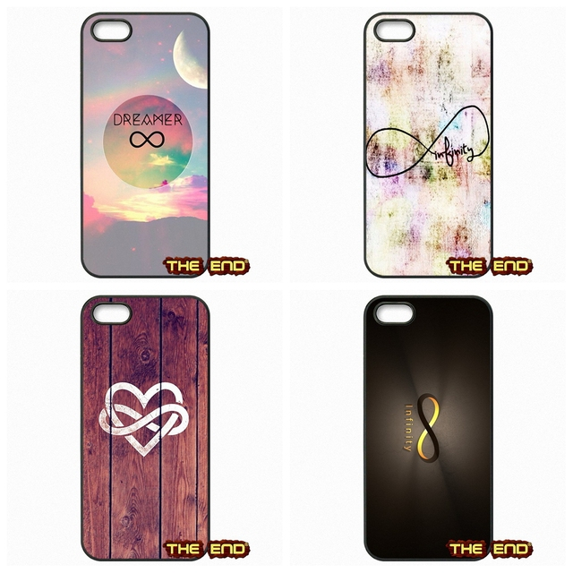 Pink Infinity Symbol Wallpaper Cell Phone Covers For Iphone X 4 4s 5