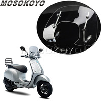 Bolt On Clear Scooter Bike Windshield Flyscreen for Vespa Sprint 150cc Windscreen Wind Deflector