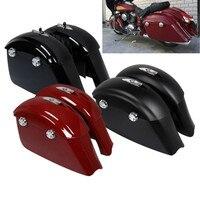 Седельные сумки электронная защелка Крышка для индийского вождя темная лошадь 16 18 3 цвета Roadmaster Спрингфилд мотоцикл аксессуар