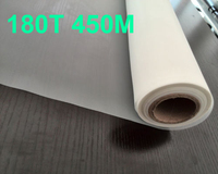 Free Shipping 3 Meters 200T 500M Yellow Color Polyester Silk Screen Printing Mesh 115CM Width