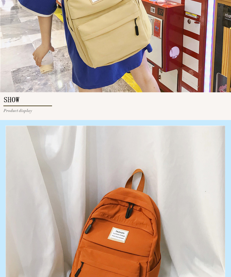 HTB1uA1aa21H3KVjSZFHq6zKppXaX 2019 New Backpack Women Backpack Fashion Women Shoulder nylon bag school bagpack for teenage girls mochila mujer